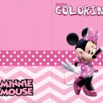Revista Colorindo Minnie Rosa