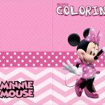 Revista Colorindo Minnie Rosa