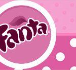 Rotulo Fanta Minnie Rosa