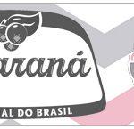 Rotulo Guarana Caculinha Elefantinho Rosa e Cinza Chevron