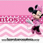 Rotulo Mentos Minnie Rosa