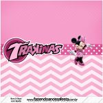 Rotulo Mini Trakinas Minnie Rosa