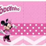 Rotulo Toddynho Minnie Rosa