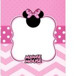 Tag Agradecimento Minnie Rosa Kit Festa