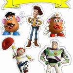 Topo de Bolo de Papel para Imprimir Toy Story