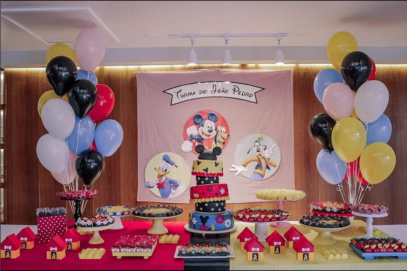 Créditos: @adonafesta_sp Ideias para Festa Mickey Mouse