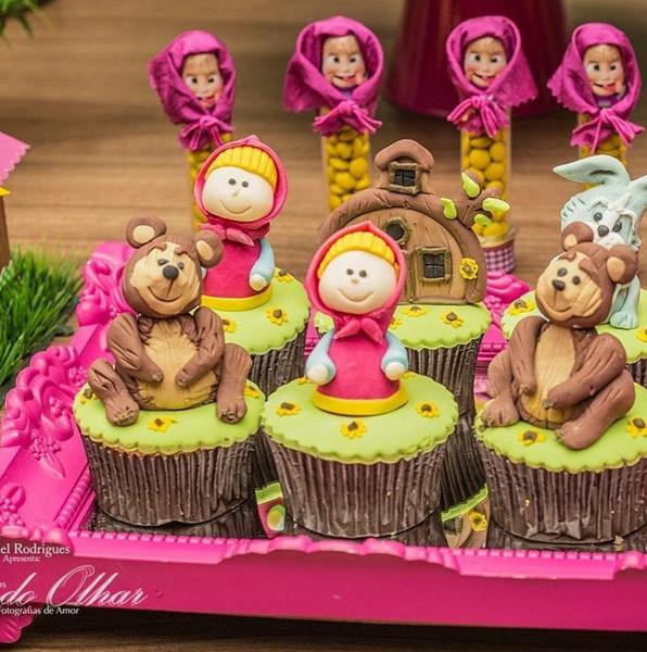 Créditos: @amaeventos 3 Ideias para Festa Infantil Masha e o Urso