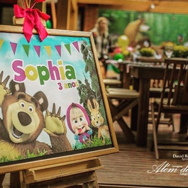 Créditos: @amaeventos 4 Ideias para Festa Infantil Masha e o Urso