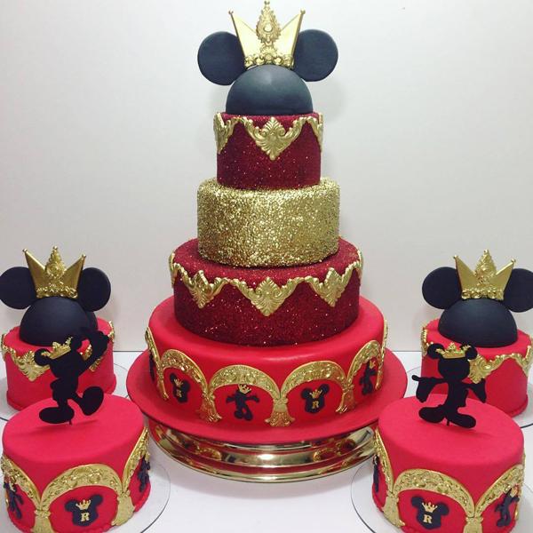 Créditos: @ateliermm Ideias para Festa Mickey Mouse
