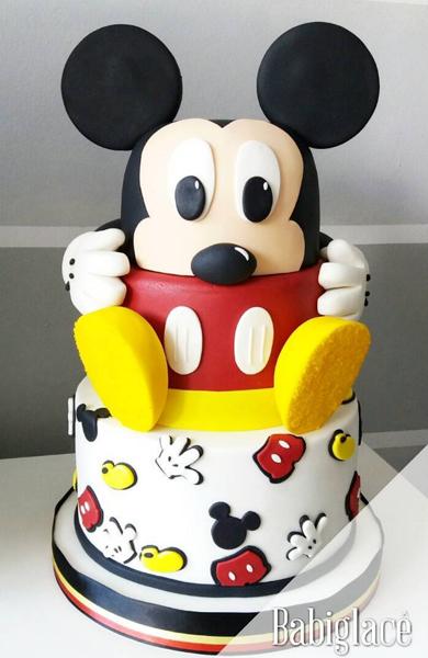 Créditos: @babiglace Ideias para Festa Mickey Mouse