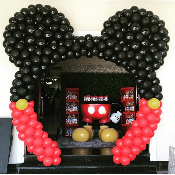 Créditos: @baloesfestanca giseletrix letrixdecoracao Festa Mickey Mouse
