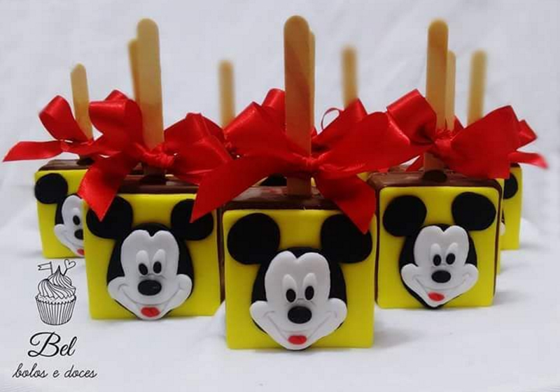 Créditos: @bel_bolosedoces Festa Mickey Mouse