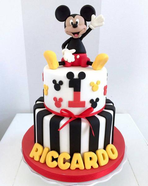 Créditos: @bellasbakery Festa Mickey Mouse