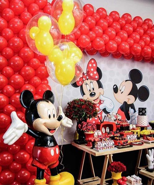 Créditos: @brunodfogaca Festa Mickey Mouse
