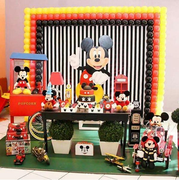 Créditos: @carrosselfest Festa Mickey Mouse