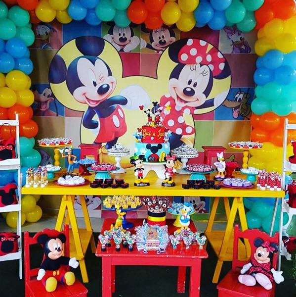 Créditos: @charmefestas Festa Mickey Mouse