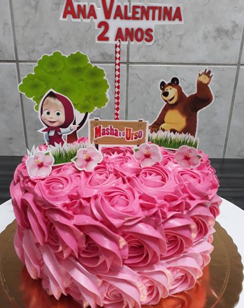 Créditos: @decorebd Ideias para Festa Infantil Masha e o Urso