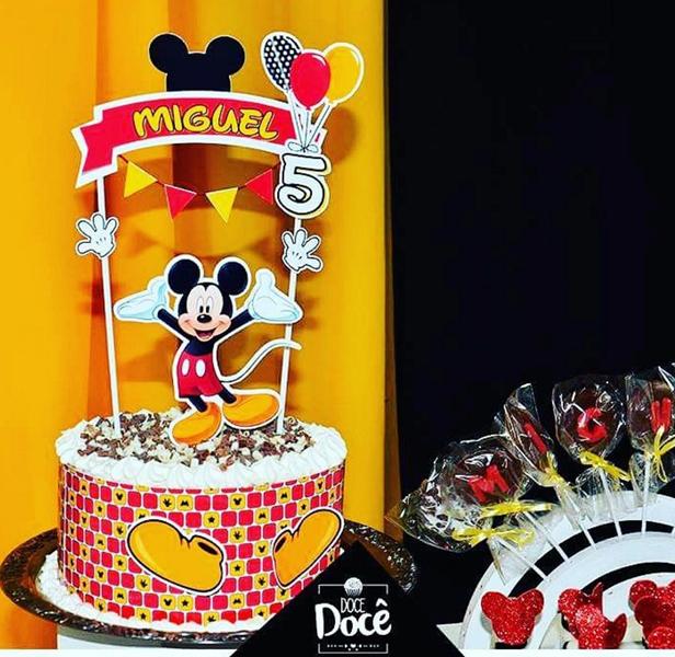 Créditos: @docedoce_ipa mimosdagrazi.oficial Festa Mickey Mouse