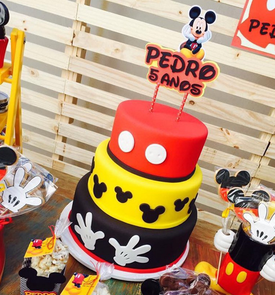 Créditos: @doceriacarone Festa Mickey Mouse