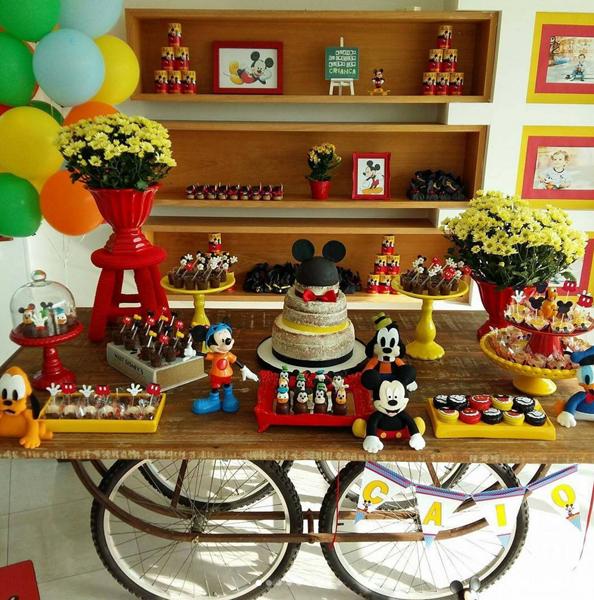 Créditos: @festaludica Festa Mickey Mouse