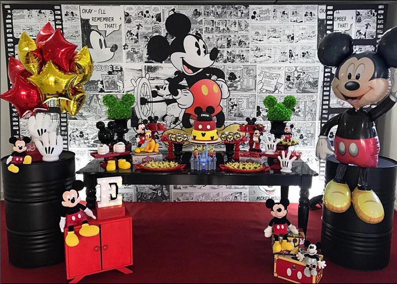 Créditos: @festaparamamaes Festa Mickey Mouse