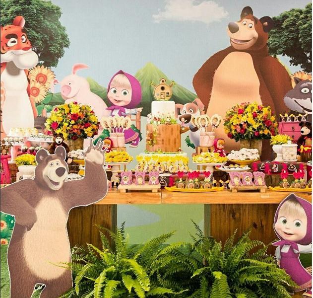 Créditos: @festejandosonhos 4 Ideias para Festa Infantil Masha e o Urso