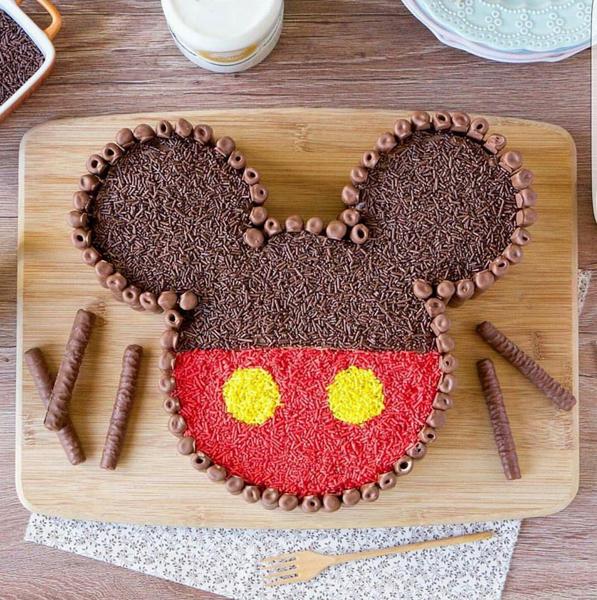 Créditos: @flamboesa Festa Mickey Mouse