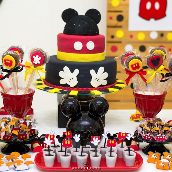 Créditos: @gabi.sbritto 2 Festa Mickey Mouse