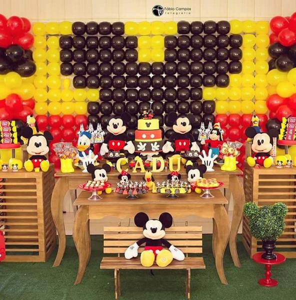Créditos: @gbdfestas Festa Mickey Mouse