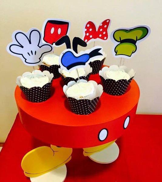 Créditos: @imagine_festas Festa Mickey Mouse