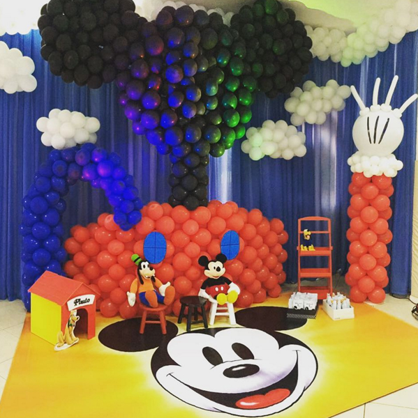 Créditos: @jaquelinetozzo Festa Mickey Mouse