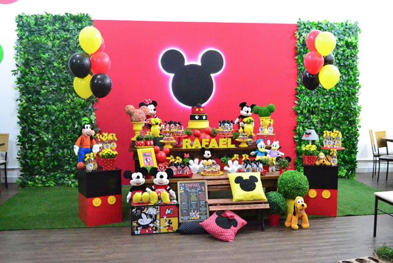 Créditos: @labellevie_eventos Festa Mickey Mouse
