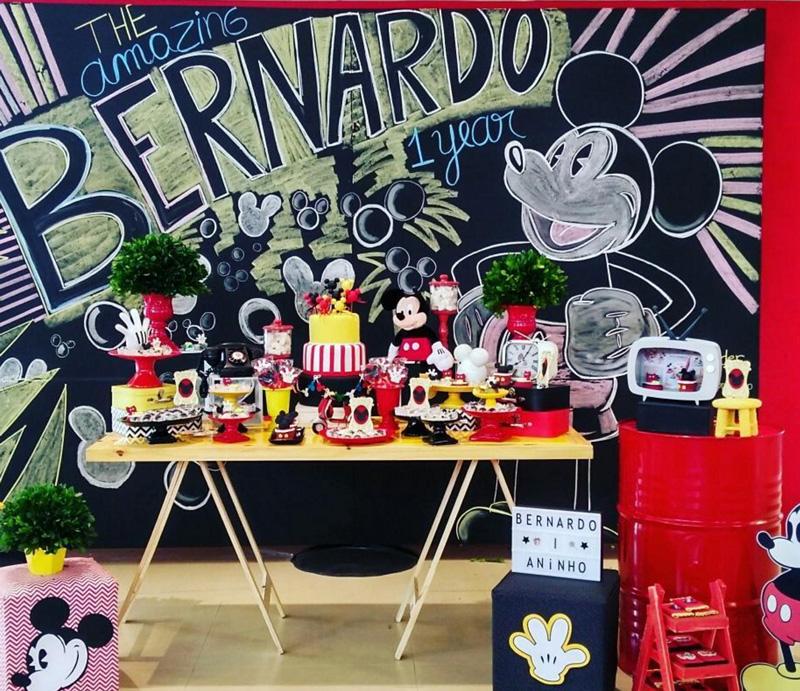 Créditos: @lenys_festas Mickey Mouse
