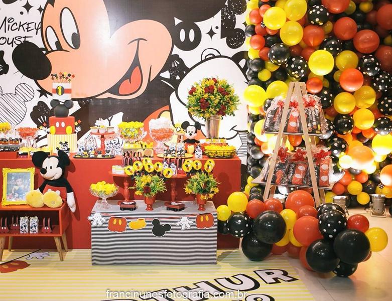 Créditos: @marcelamunizfestas franci_nunes_fotografia Festa Mickey Mouse