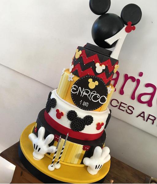 Créditos: @mariaglaucia81 Festa Mickey Mouse