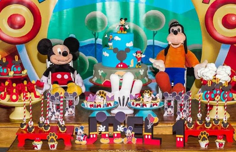 Créditos: @nicerossi mickey mouse festa