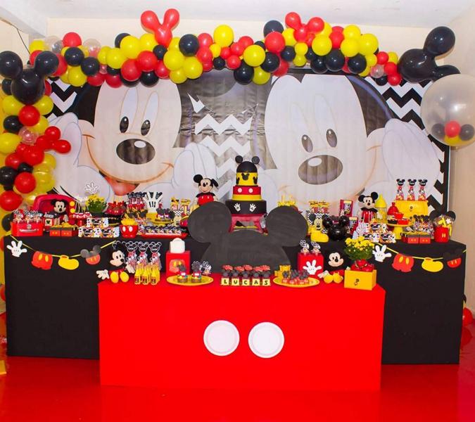 Créditos: @nossomundoefesta Festa Mickey Mouse