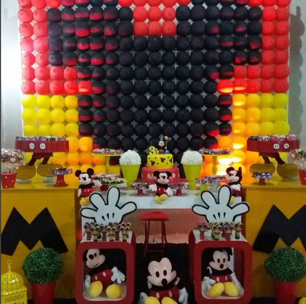 Créditos: @rs_decoracoes Festa Mickey Mouse