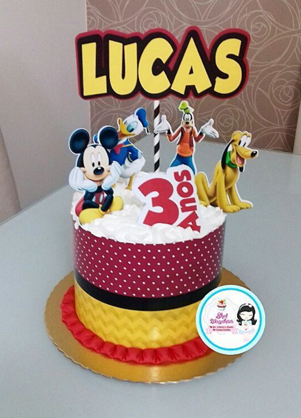 Créditos: @shelmagalhaes Festa Mickey Mouse