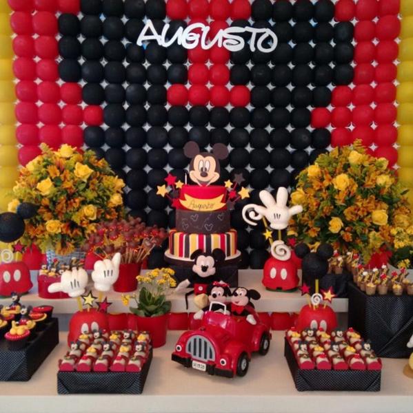 Créditos: @thais_polli2 Festa Mickey Mouse