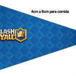 Bandeirinha Sanduiche 1 Clash Royale Kit Festa