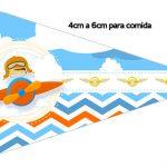 Bandeirinha Sanduiche 1 Menino Aviador
