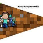 Bandeirinha Sanduiche 1 Minecraft