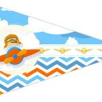 Bandeirinha Sanduiche 2 Menino Aviador