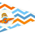 Bandeirinha Sanduiche 3 Menino Aviador