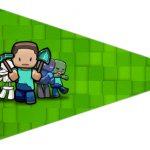 Bandeirinha Sanduiche 4 Minecraft
