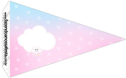 Bandeirinha Sanduiche 5 Chuva de Amor