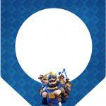 Bandeirinha Varalzinho 3 Clash Royale Kit Festa