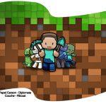 Bandeirinha Varalzinho Minecraft