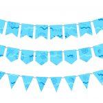 Bandeirinhas para topo de bolo Baby Shark